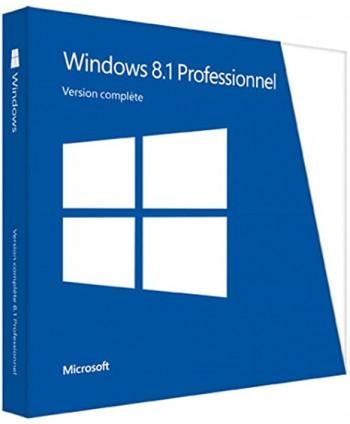 Windows 8.1 Professionnel - 32 / 64 bits (Microsoft)