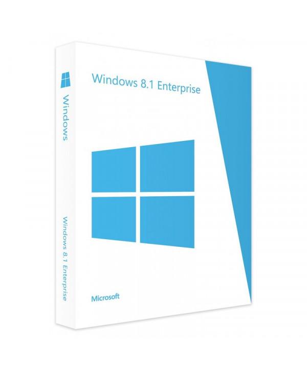 Windows 8.1 Entreprise - 32 / 64 bits (Microsoft)