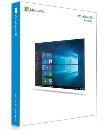 Windows 10 Famille - 32 / 64 bits (Microsoft)