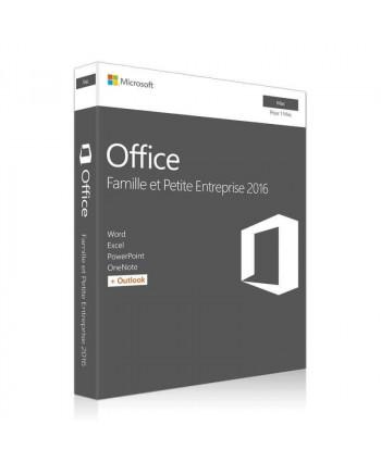 Office 2016 Famille et Petite Entreprise pour Mac (Microsoft)