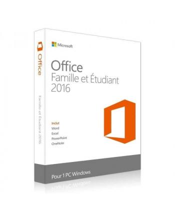 Office 2016 Famille et Etudiant (Microsoft)