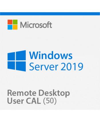 Windows Server 2019 Remote Desktop Services (RDS) 50 user connections (Microsoft)