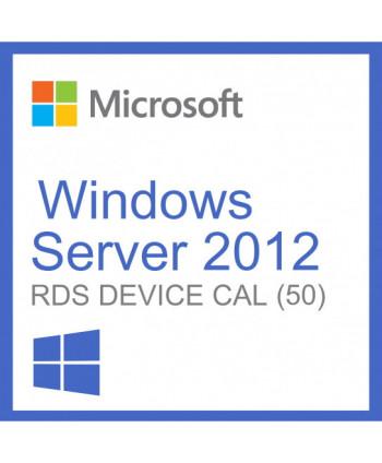 Windows Server 2012 Remote Desktop Services (RDS) 50 device connections (Microsoft)