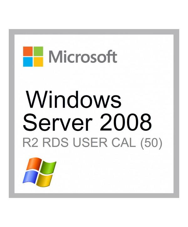 Windows Server 2008 R2 Remote Desktop Services (RDS) 20 user connections (Microsoft)