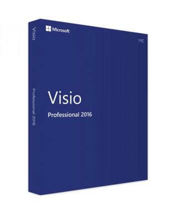 Visio 2016 Professionnel (Microsoft)