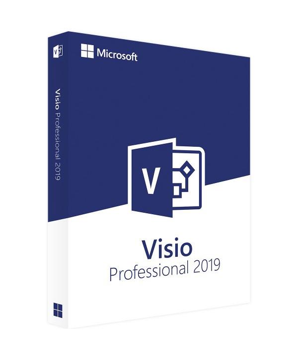 Visio 2019 Professionnel (Microsoft)