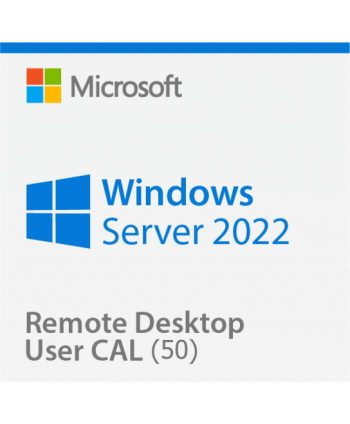 Windows Server 2022 Remote Desktop Services (RDS) 50 user connections (Microsoft)