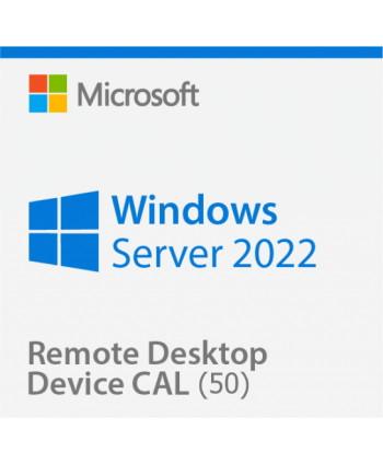 Windows Server 2022 Remote Desktop Services (RDS) 50 device connections (Microsoft)