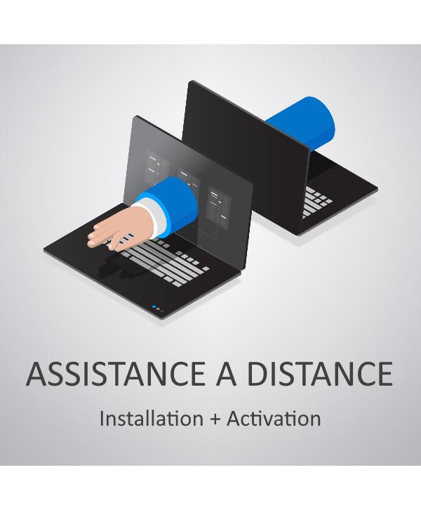 Assistance à distance : Installation + Activation