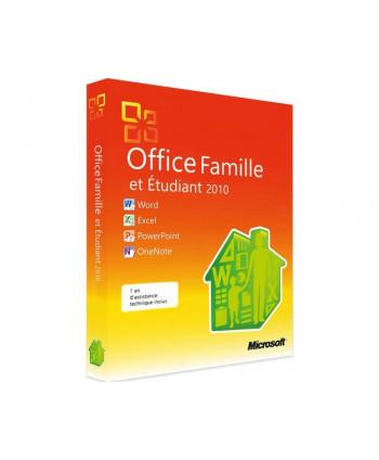 Office 2010 Famille et Etudiant (Microsoft)