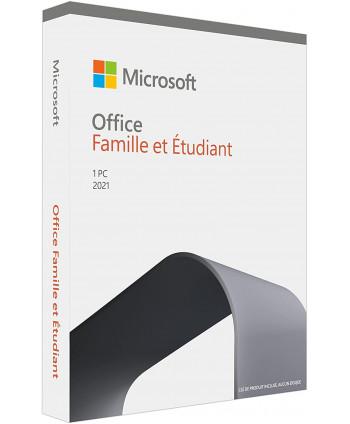 Microsoft Office 2021 Famille et Etudiant (Home Student)
